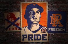 My Mets, New York Mets, Freedom, Pride, David, Painting, Fictional Characters, Art, Liberty