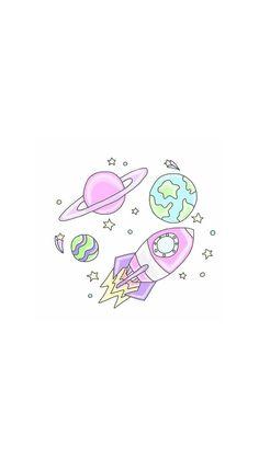 Galaxy wallpaper cute