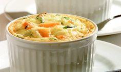 Receita de Forminha de legumes - Suflê - Dificuldade: Fácil - Calorias: 105 por porção