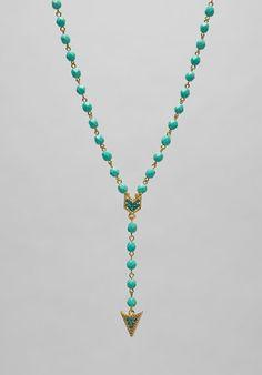 Pocahontas arrow necklace