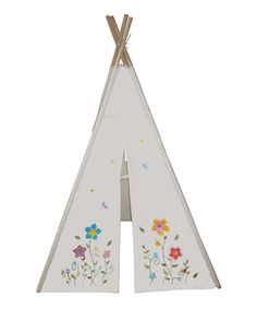 Look at this Flower Teepee on #zulily today!