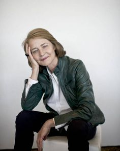 Rampling says: 'The only way life is interesting to me - and I'm in a particular profession where I can do this - is to jump off the cliff. This is what excites me.'