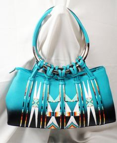 Rez Hoofz Purse painted by Rezhoofz on Etsy, $75.50
