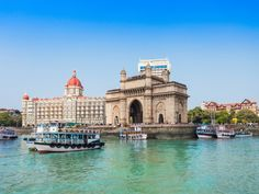 #Golden_triangle_tour_with_Mumbai sightseeing enjoy the best views of Beach and long hight buildings.