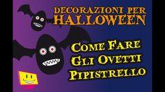 Decorazioni Per Halloween DIY - Gli Ovetti Pipistrello - La Televisione ...