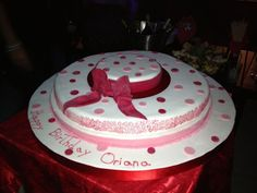 3D.torta pink pois pan di spagna farcita con crema pasticcera e fragole - italian food, love italy -, from HAngry Bakery