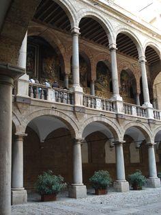 Cappella Palatina, 1140-1170 Palazzo dei Normanni, Palermo.