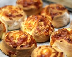 Cheese and Bacon Rolls Recipe - Bread
