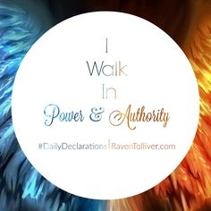 #DailyDeclaration I Walk In Power & Authority!  ✡And these signs shall follow them that believe; In my name shall they cast out devils; they shall speak with new tongues; They shall take up serpents; and if they drink any deadly thing, it shall not hurt them; they shall lay hands on the sick, and they shall recover.- Mark 16:17-18 #Blessed#Scriptures #SpeakLife#WordPower #Affirmation #Bible#BibleVerses #Britchadashah #inspiration