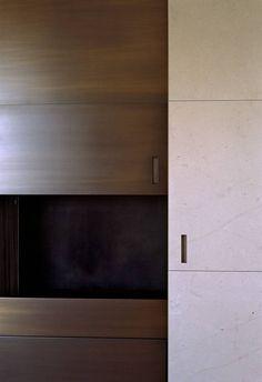 Bronze and stone door details - Vincent Van Duysen
