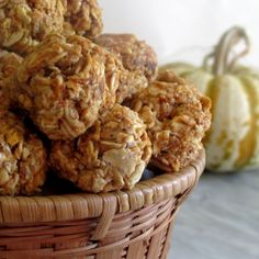 Oatgasm: No Bake Pumpkin Oatmeal Bites