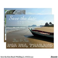 Discover out-of-this-world save the date cards on Zazzle! Browse invitations, post cards & magnets and choose from an array of different designs & themes. Save The Date Cards, Wedding Cards, Destination Wedding, Dating, Invitations, World, Beach, The World, Quotes