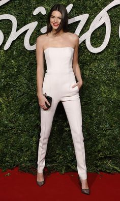 At the British Fashion Awards in London. See all of Kendall Jenner's best looks.