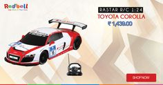 Shop for your kids Rastar R/C 1:24 Toyota Corolla online at Redbell.com. Buy Now #rc #cars #kids #games #online #shopping #redbell #RasterCars