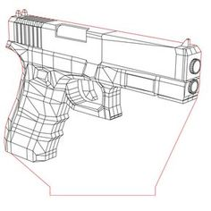 Glock pistol illusion lamp vector file for CNC - Lamp Redo, Lamp Makeover, Aluminum Jon Boats, Led, 3d Optical Illusions, Laser Cutter Projects, Powerpoint Design Templates, Street Lamp, Drawing Techniques