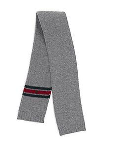 Gucci Kid's Wool Scarf