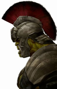 Gladiator Hulk - Ben Oliver