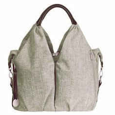 Sac a langer issu à 100% de bouteille en plastique recyclée - sac à langer Neckline Green Label de Laessig