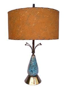 Atomic // Vintage // Mid Century Lamp // Sputnik // by GotRetro