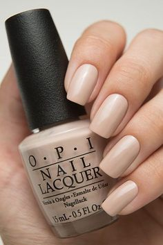My favorite go to color! Opi Nail Polish Colors, Pink Nail Colors, Nail Polish Designs, Opi Polish, Claire's Nails, Nude Nails, Manicure And Pedicure, Minimalist Nails, Gorgeous Nails