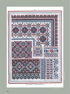 Gallery.ru / Фото #66 - Старинные узоры для вышивания. - tigerfairy