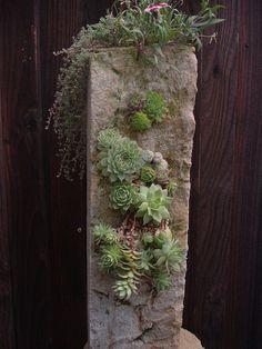 Stone Planter Zen Garden