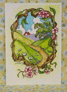 Alida Akers' Storybook Cottage Series - Remembering Spring