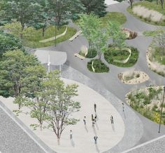 NP2F — ZAC Chantereine Collage Architecture, Architecture People, Architecture Graphics, Architecture Drawings, Concept Architecture, Architecture Details, Landscape Architecture, Landscape Design, Urban Interior Design