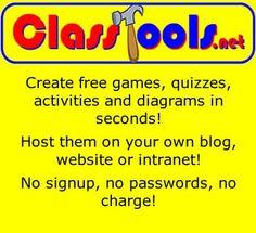 m.in. aplikacje do tworzenia mini gier internetowych, napisów filmowych, galerii obrazów, odmierzania czasu (np. na wykonanie zadania), diagramów, imitujące popularne portale społecznościowe Fakebook i Twister, do losowania (np. pojęć lub uczniów)
