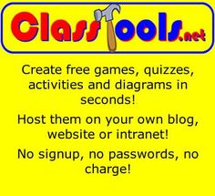 ClassTools.net  Create games and other tools