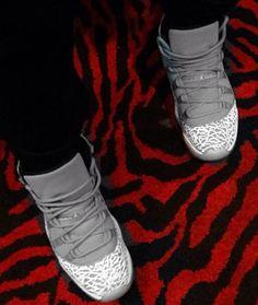 Air Jordan XI 11 Elephant Sample Jordans Sneakers ae817f2c8