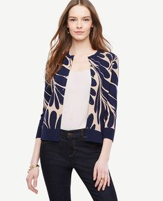 4f6868ebcdca0 Shop Ann Taylor for effortless style and everyday elegance. Our Leaf Petal  Sleeve Ann Cardigan is the perfect piece to add to your closet.