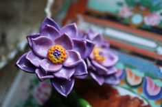 Lotus of Lakshmi II by MsPlugItDesign on Etsy, $95.00