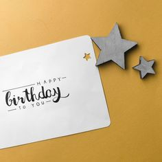 Happy birthday to you | #handlettering #card #birthday