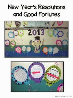 New Year's Resolutions and Good Fortunes blog post with free downloads.