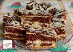 Érdekel a receptje? Kattints a képre! Hungarian Recipes, Tiramisu, Cooking Recipes, Menu, Sweets, Snacks, Cookies, Baking, Cake