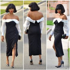 How To Put on An Off Shoulder Aso Ebi/Ankara Gown For Any Event