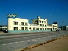 The ship-shaped Mayflower Inn Hotel, Galveston, Texas - demolished in 2006 for condominium development...
