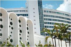 MiMo Architecture - 4441 Collins Ave.,  Morris Lapidus/Mid 20th Century District (Miami Beach, Florida)