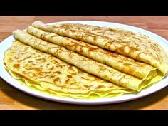YouTube Crepes, Pizza Snacks, Pancakes, Food And Drink, Ethnic Recipes, Sweet, Desserts, Youtube, Burritos