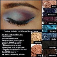 Younique eye pigments! ALL NATURAL!