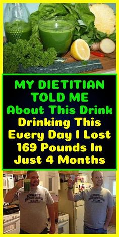 Health weight loss - My Dietitian Told Me About This Drink Drinking This Every Day I Lost 169 Pounds In Just 4 Months – Health weight loss Weight Loss Meals, Weight Loss Drinks, Weight Loss Challenge, Weight Loss Smoothies, Diet Drinks, Healthy Drinks, Healthy Tips, Healthy Food, Healthy Diet Plans