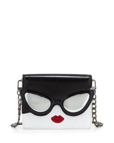 Alice + Olivia Stacy Face Mini Clee Shoulder Bag