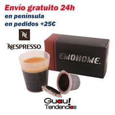 a capsulas cafe nespresso recargables em04 rellenables capsules ricaricabili