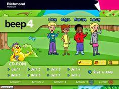 Actividades digitales Beep 4 de Editorial Richmond