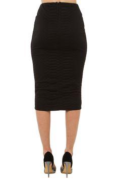 shopakira.com  Scale Print Midi Skirt | Black Skirt | Midi Skirts