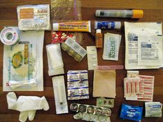 Nicaragua First Aid Kit - Unpacked by Mat Honan, via Flickr