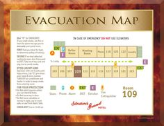 7 Motel-Emergency Evacuation Plan ideas | emergency evacuation plan,  evacuation plan, emergency evacuation
