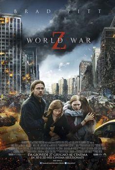 World War Z film completo fantascienza horror 2013 con Brad Pitt in streaming HD gratis in italiano. Guardalo online a 1080p e fai download in altadefinizione.