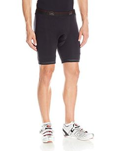 ZOIC Mens Analog Cycling Shorts Black 2XLarge ** Visit the image link more details.(This is an Amazon affiliate link and I receive a commission for the sales)